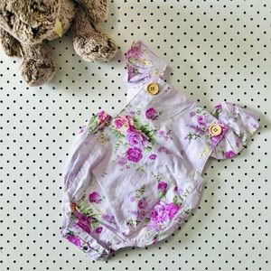 Toddler girls Size 2 LA SIENNA COUTURE playsuit